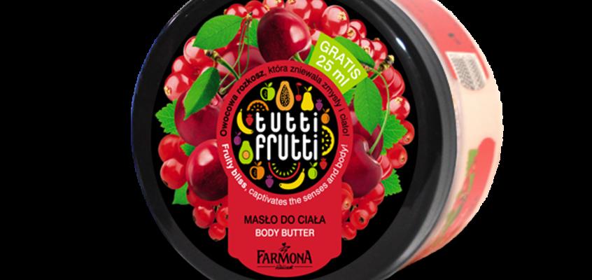 Z cyklu wspieramy polskie marki – masło do ciała Tutti Frutti od Farmony