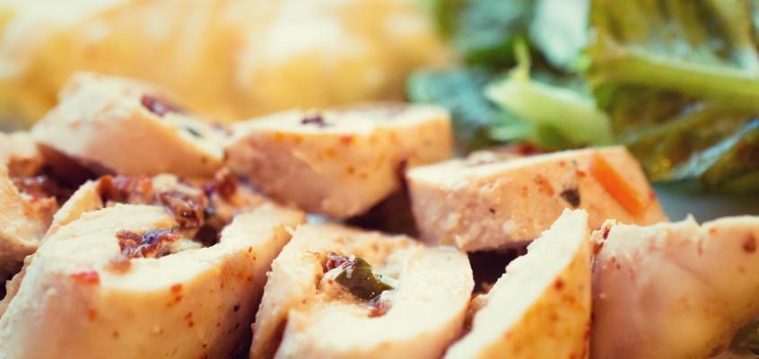Kurczak z serem ricotta