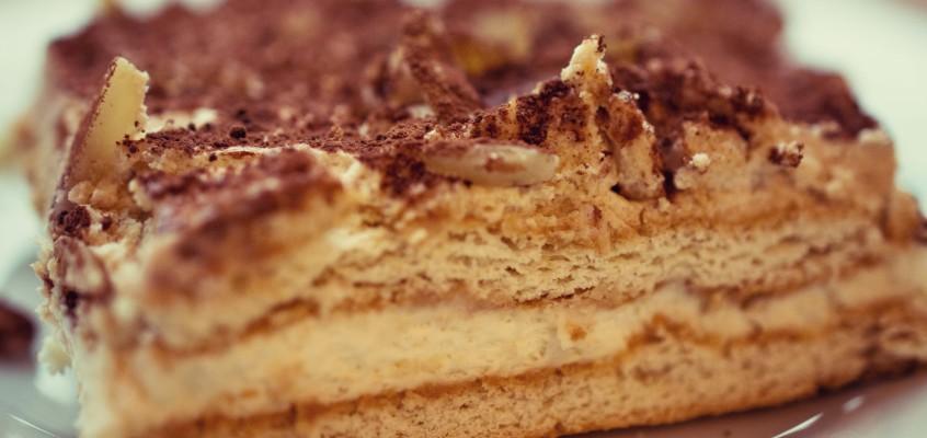 Ciasto z herbatników i mascarpone