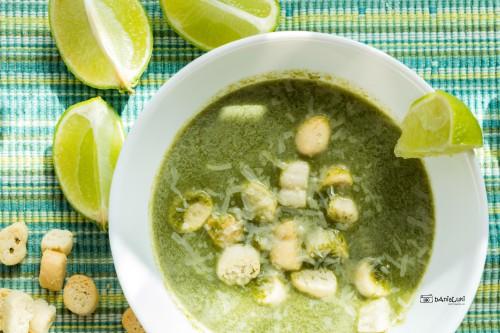Zupa krem ze szpinaku