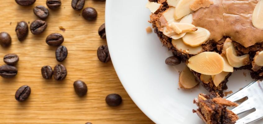 Brownie z migdałami