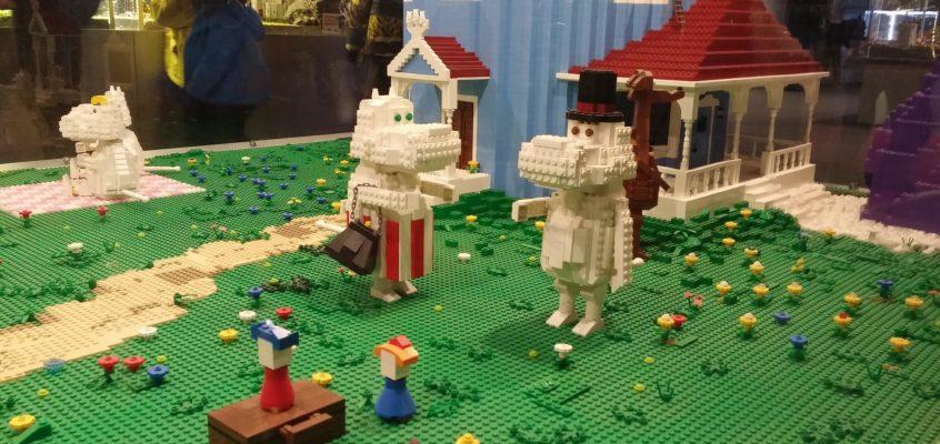 Wystawa LEGO na Stadionie Wrocław