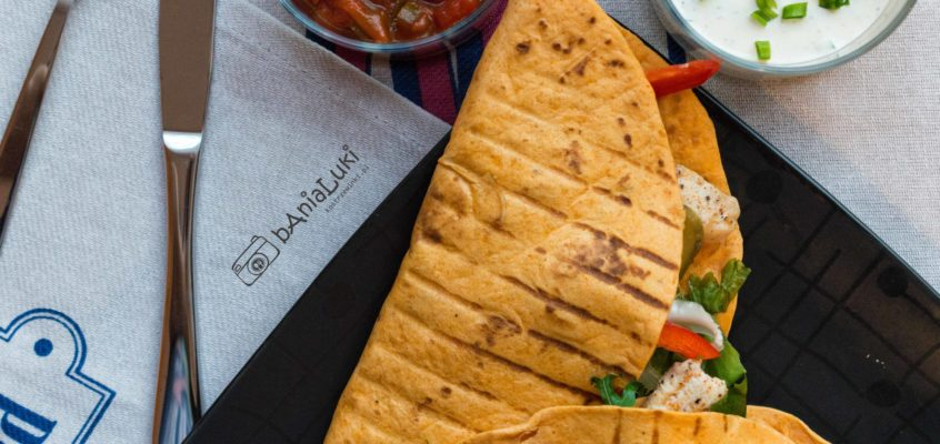 Grillowane tortille