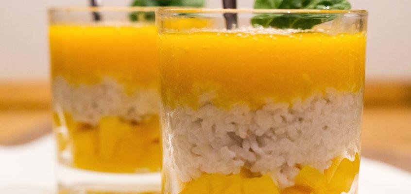 Ryż kokosowy z mango