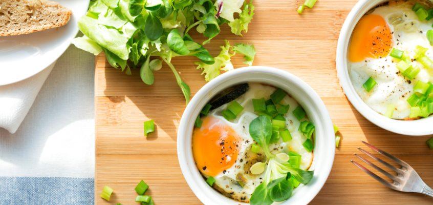 Jajka zapiekane w kokilkach