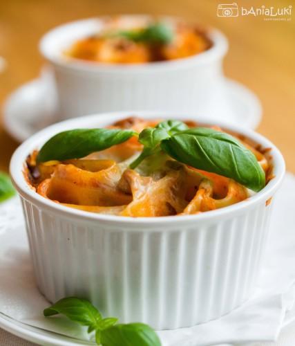 Cannelloni zapiekane w kokilkach
