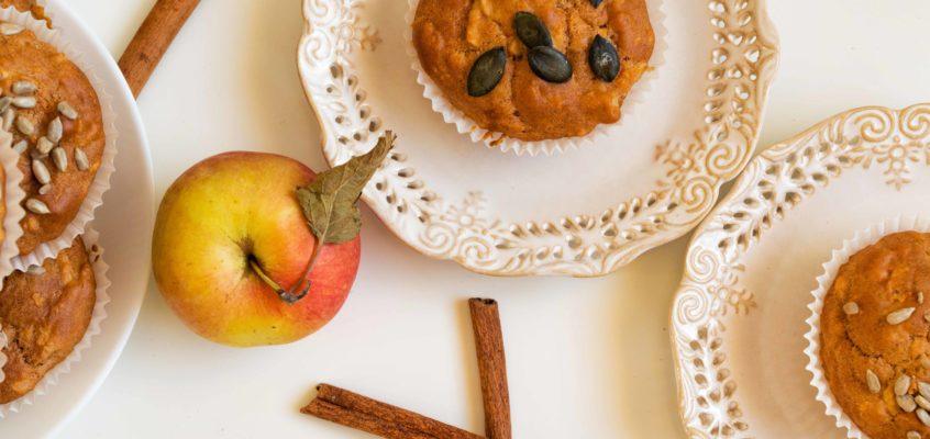 Babeczki jabłkowe z cynamonem