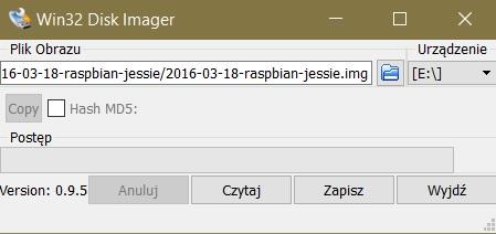 Program Win32Diskimager