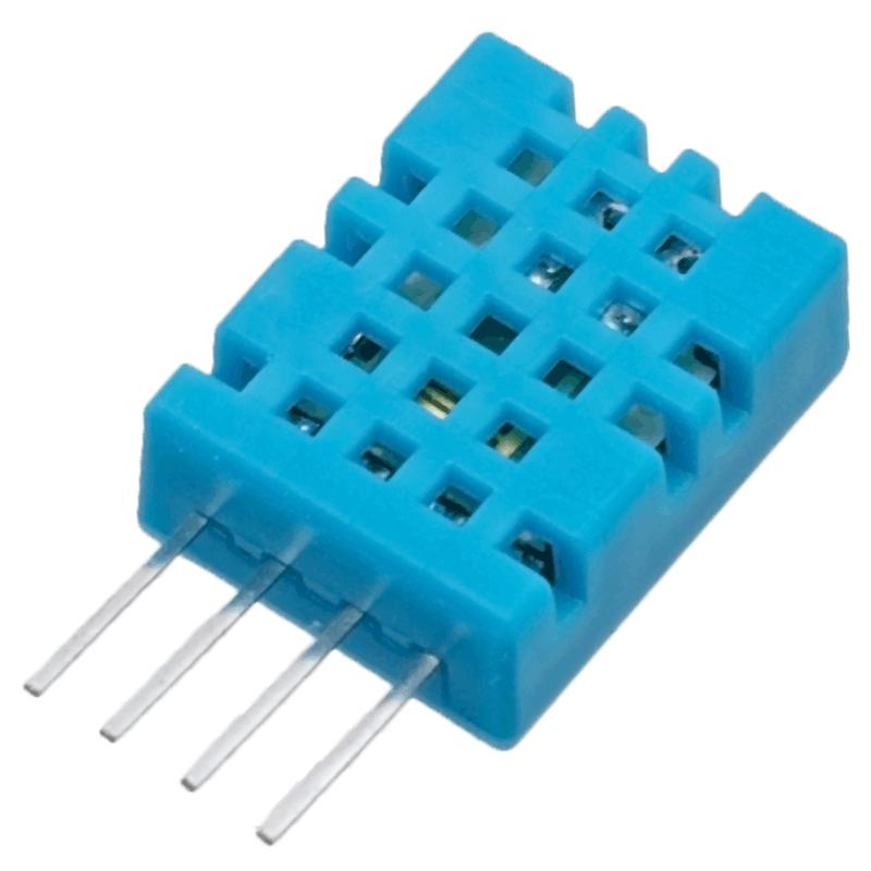Podłączenie czujnika temperatury i wilgotności DHT 11 i DHT 21 do Raspberry Pi  w systemie Domoticz