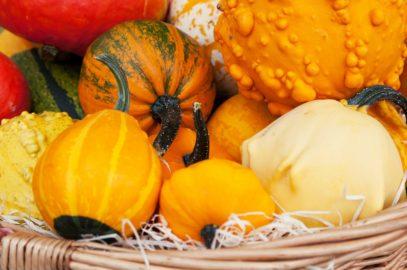 Warzywa i owoce w październiku