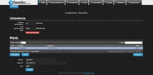 Kodi Media Player w Domoticz