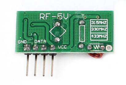 Odbiornik RF 433Mhz