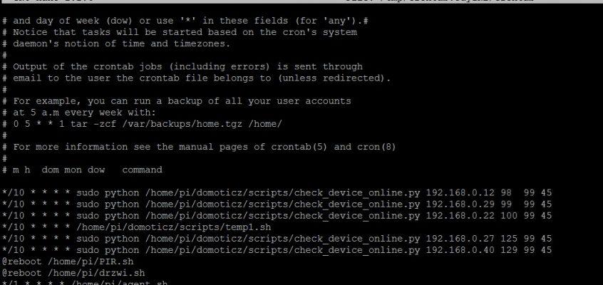 Domoticz – detekcja urządzenia po jego numerze IP