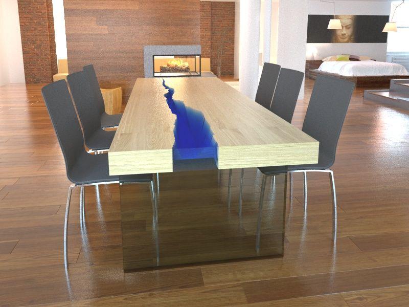 Piękny a zarazem inteligentny stół firmy KASPARO